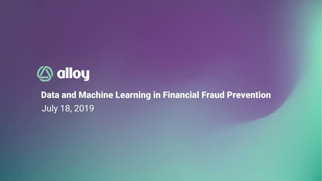 Data and Machine Learning in Financial Fraud Prevention
