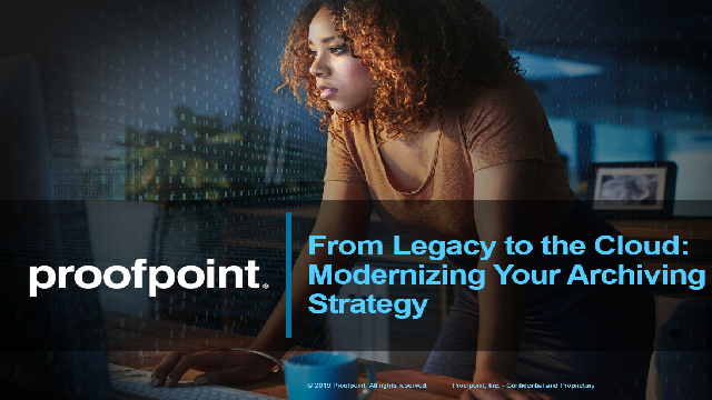 Webisode 3: Future-Proof Your Legacy and Cloud Archive