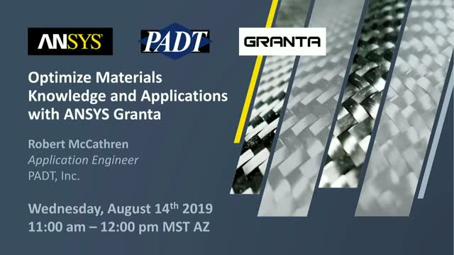 Optimize Materials Knowledge and Applications with ANSYS Granta