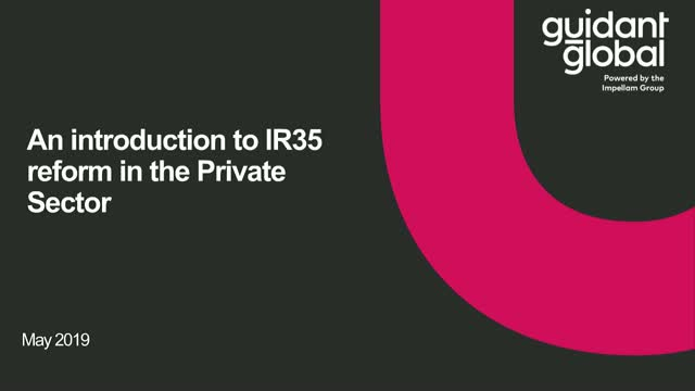 An introduction to IR35 reform in the Private Sector