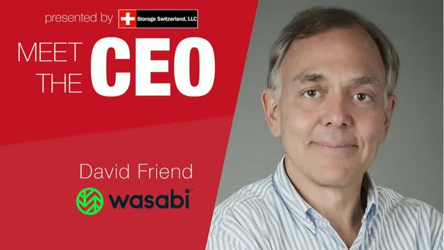 MeetTheCEO: Wasabi's David Friend