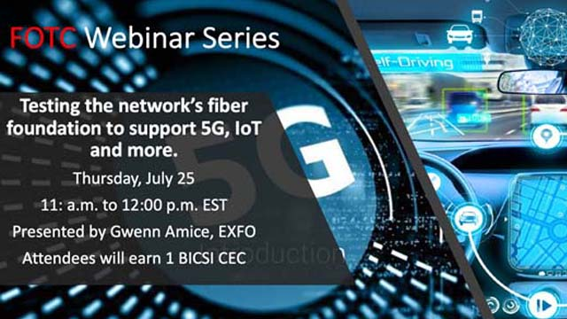 Testing the network's fiber foundation to support 5G, IoT and more.
