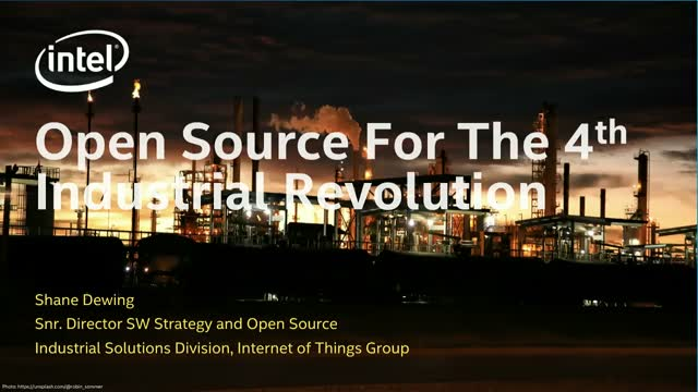 Open Source for the 4th Industrial Revolution