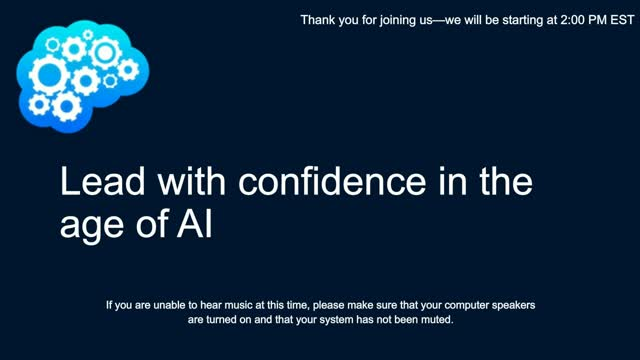 Lead with confidence in the age of AI, with Microsoft and RBS