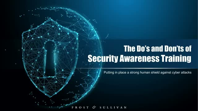 The Do's and Don'ts of Employee Security Awareness Training