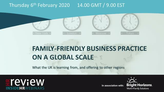 Family-Friendly Business Practice on a Global Scale?