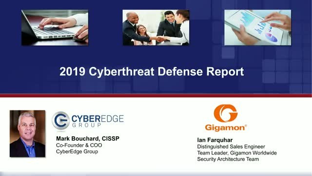 2019 Cyberthreat Defense Report Key Findings