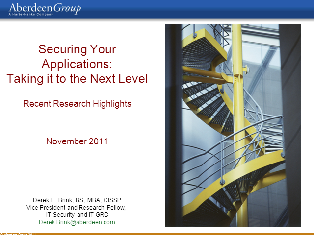 Securing Your Applications -  From Testing to True Software Assurance