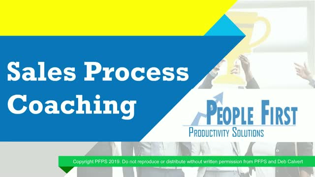 Sales Process Coaching
