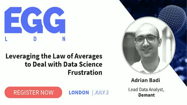 Leveraging the Law of Averages to Deal with Data Science Frustration