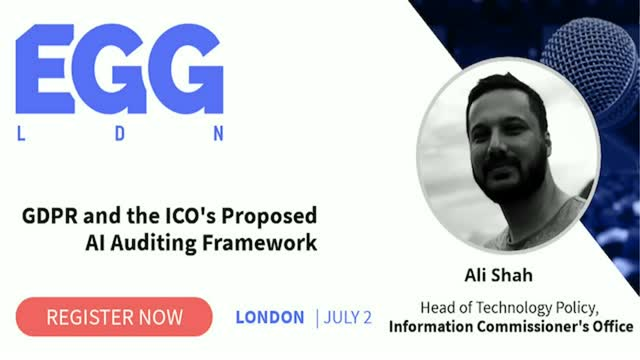 GDPR and the ICO's Proposed AI Auditing Framework