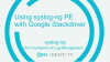 Live Webinar: How to use the syslog-ng PE's new Google Stackdriver destination