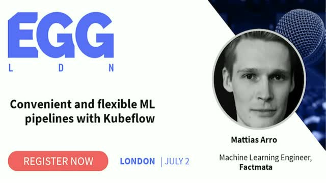 Convenient and flexible ML pipelines with Kubeflow