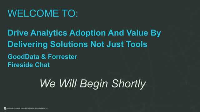 Drive Analytics Adoption And Value By Delivering Solutions Not Just Tools