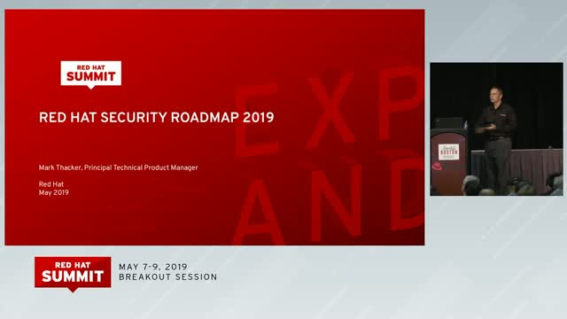 Red Hat Security Roadmap : It's a Lifestyle, Not a Product