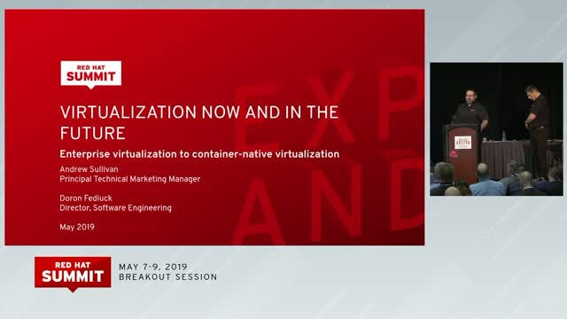 The Future: Enterprise Virtualization to Container-Native Virtualization