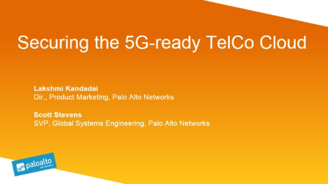 Securing the 5G-ready TelCo Cloud