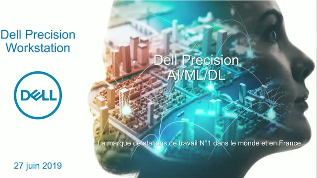 DataScience Workstation avec Dell Technologies & NVIDIA
