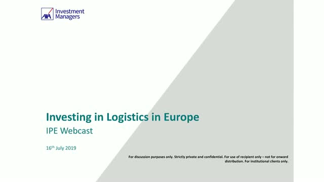 Investing in Logistics in Europe: create value through a targeted approach