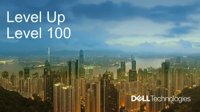 Level Up 100 with Dell Technologies