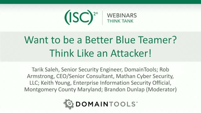 Want to be a Better Blue Teamer? Think Like an Attacker!