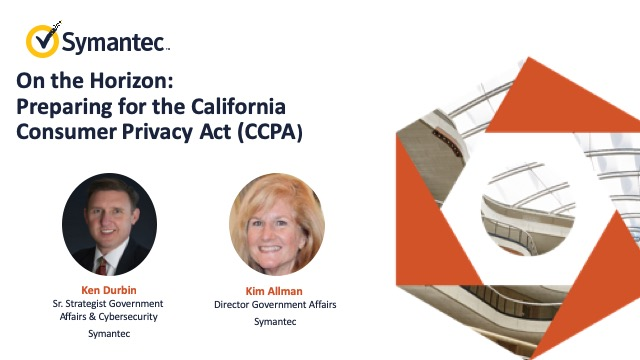 On the Horizon: Preparing for the California Consumer Privacy Act (CCPA)