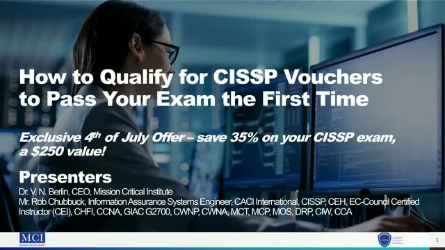 How to Qualify for CISSP Vouchers to Pass Your Exam the First Time
