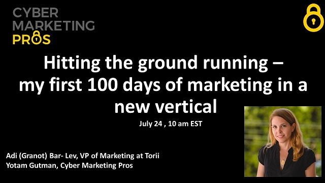 Hitting the ground running - my first 100 days of marketing in a new vertical