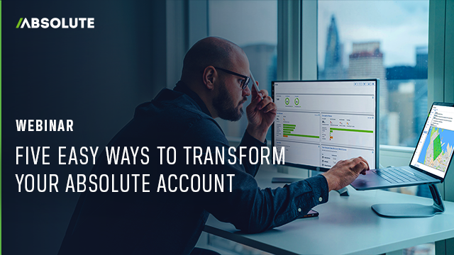 Five Easy Ways to Transform Your Absolute Account
