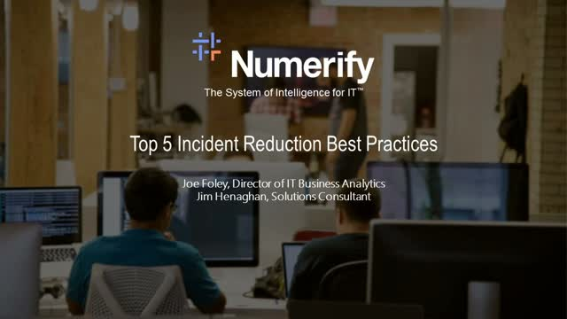 Top 5 Best Practices to Reduce Incident Volume