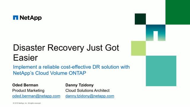 Best Practices for Making Data Recovery Easy