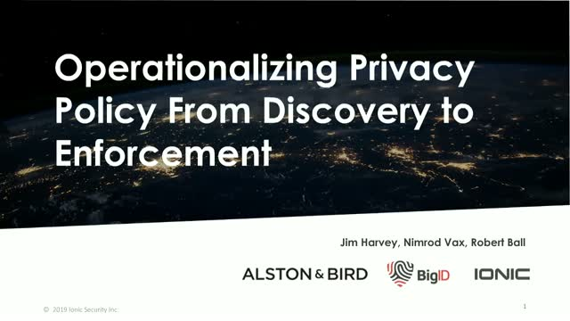 Operationalizing Privacy Policy From Discovery to Enforcement