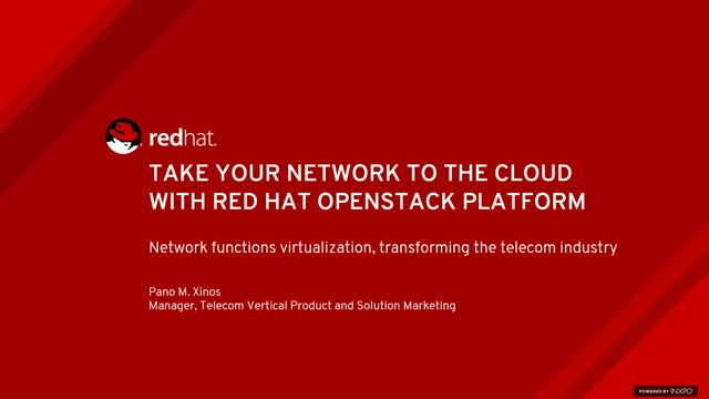 Modernize Your Network Operations with Network Functions Virtualization