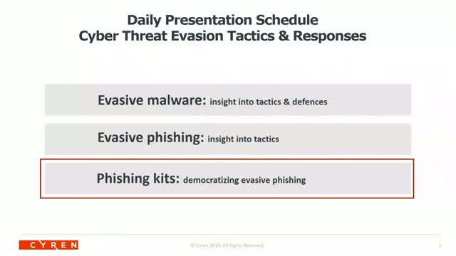 Phishing kits: democratizing evasive phishing