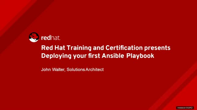 Deploying Your First Ansible Playbook