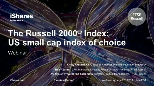 The Russell 2000 Index: US small cap index of choice