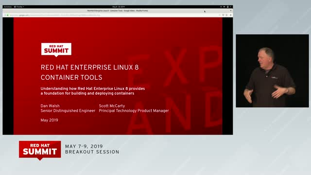 Red Hat Enterprise Linux 8 Container Tools