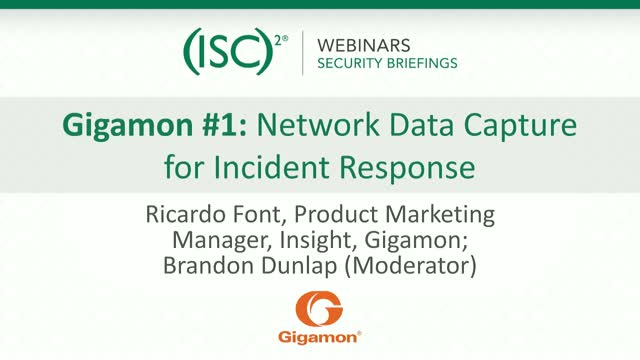 Gigamon #1: Network Data Capture for Incident Response