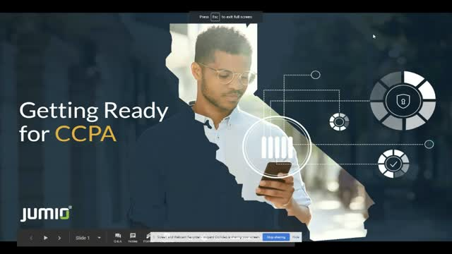 CCPA Readiness for Online Identity Verification