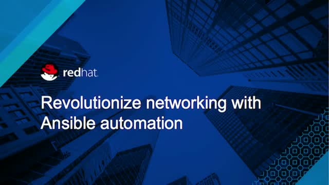 Revolutionize Networking with Ansible Automation