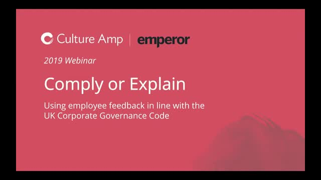 Using Employee Feedback in line with the UK Corporate Governance Code