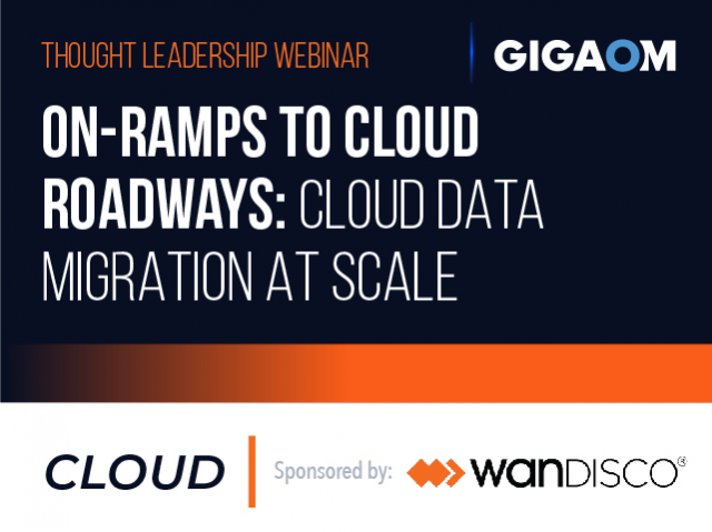 On-Ramps to Cloud Roadways: Cloud Data Migration at Scale