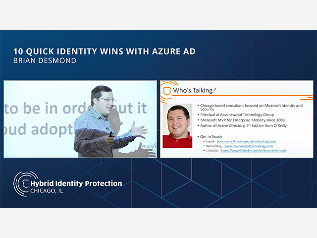 10 Quick Identity Wins with Azure AD