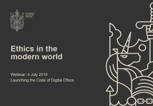 Ethics in the modern world; Launching the Code of Digital Ethics