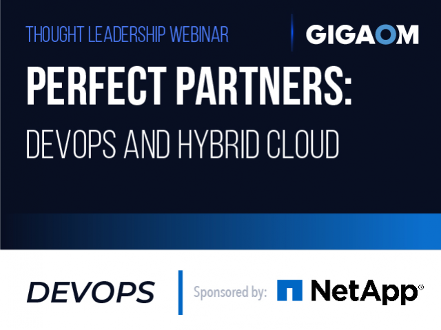 Perfect Partners: DevOps and Hybrid Cloud