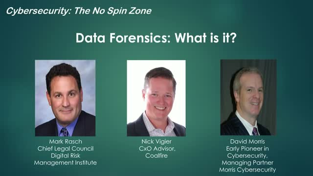 Data Forensics: What is it?