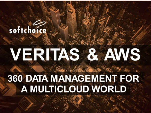 Veritas and AWS: 360 Data Management in a Multicloud World