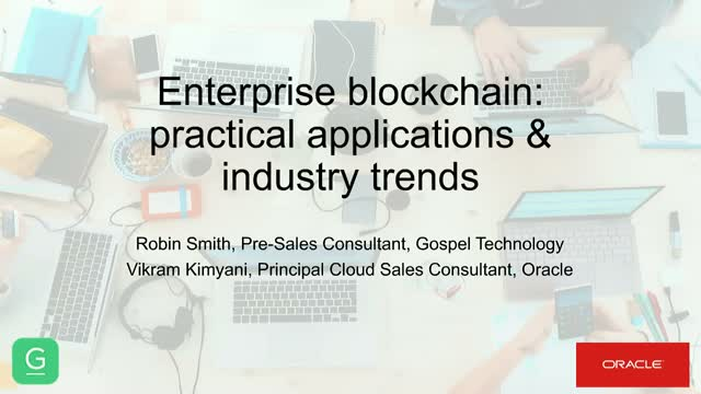 Enterprise Blockchain: Practical Applications & Industry Trends