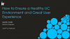 How to Ensure a Healthy UC Environment and Great User Experience