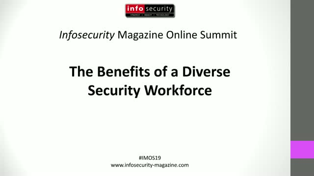 #IMOS19 - The Benefits of a Diverse Security Workforce